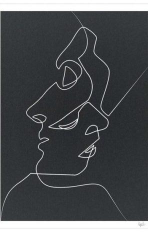 Close Noir Guibe Artwork