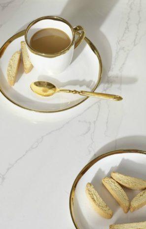 Calacatta Gold Quartz Benchtop Silestone