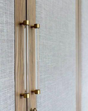 Brass Handle Detail