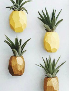 Pineapple Wall Art Goodsmithshop on Etsy